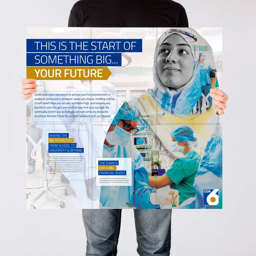 Prospectus design by The Agency for Education