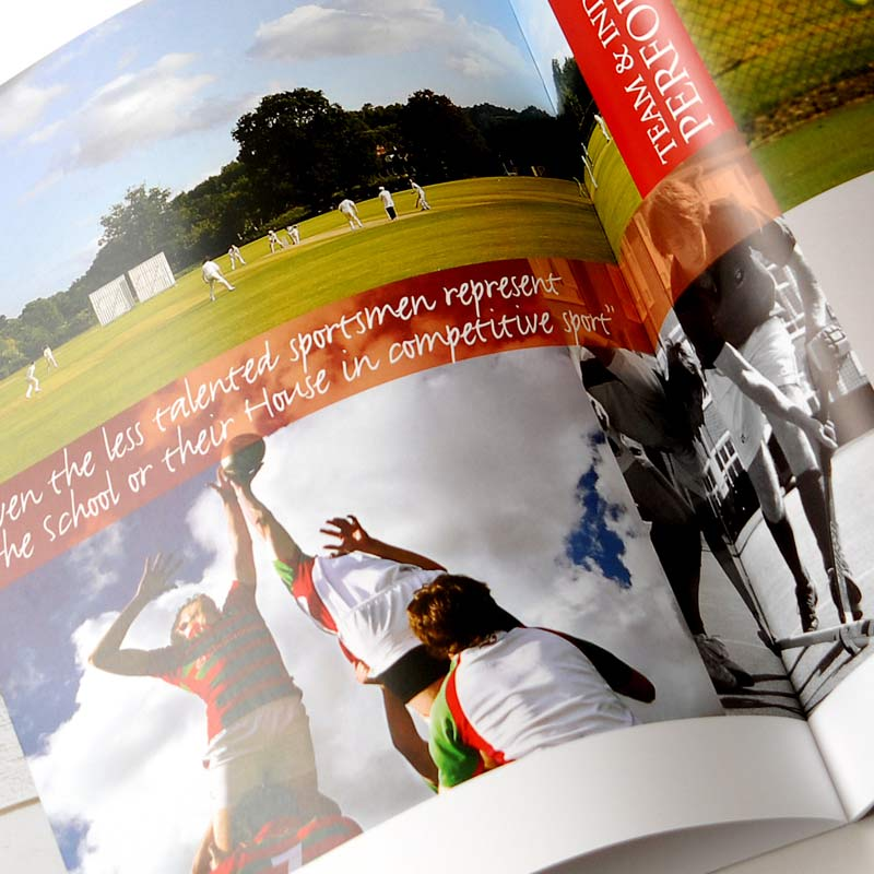 Prospectus design and print for schools by The Agency for education