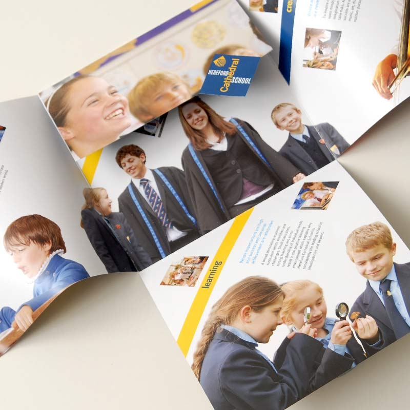 Hereford Cathedral school by The Agency for education