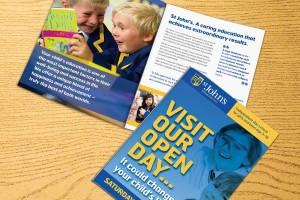 Direct Mail for St John's School by The Agency for Education