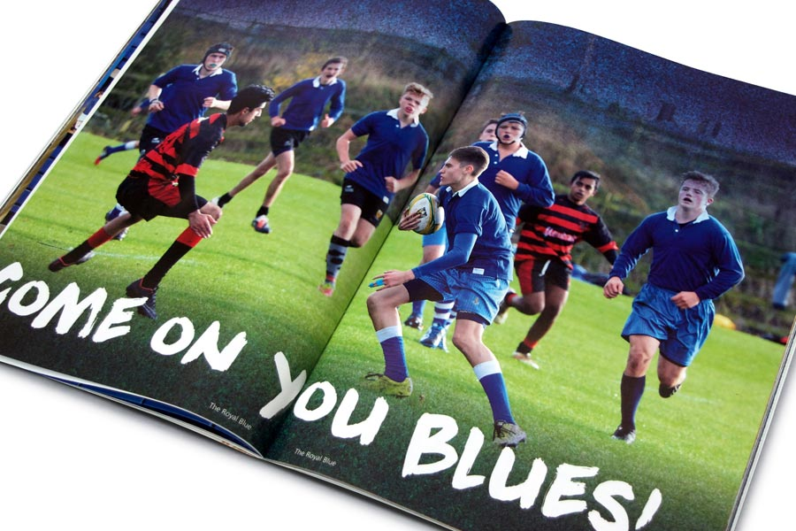 The Royal Blue School Magazine