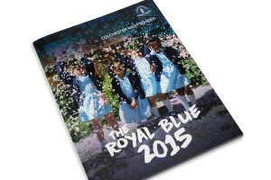 Royal Blue Magazine design and production by The Agency for Education