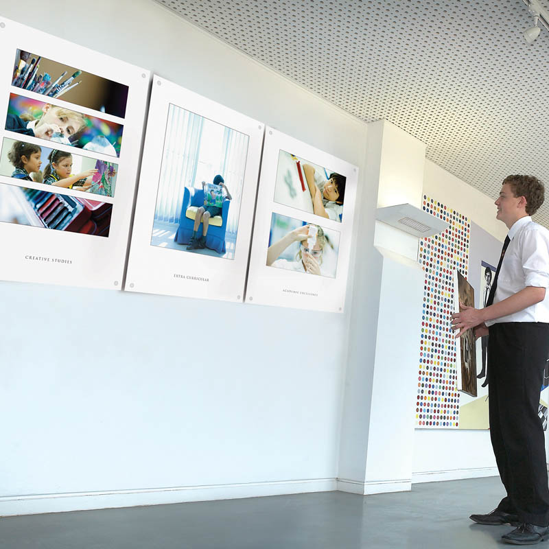 Environmental Graphics from The Agency for Education
