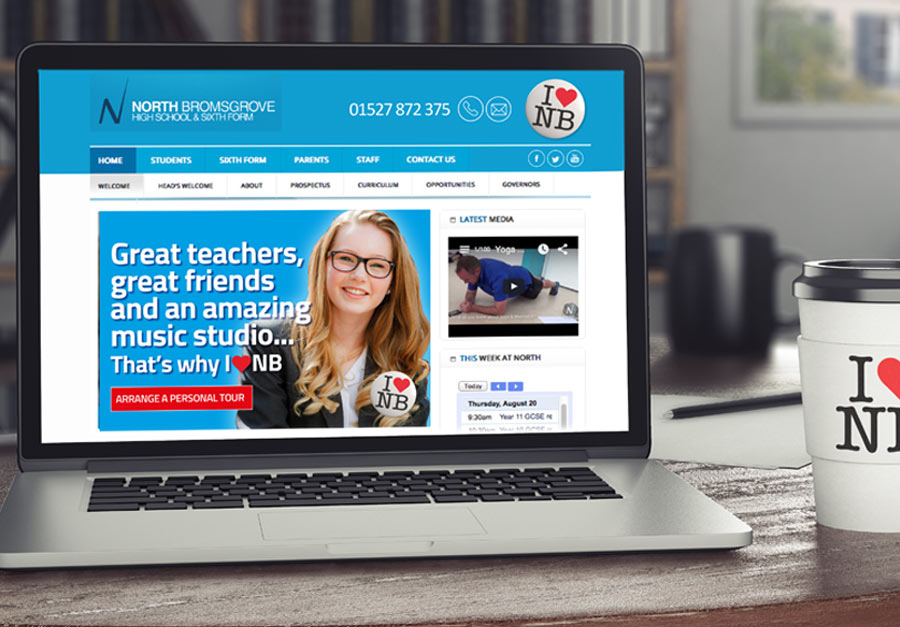 Website developments by The Agency for Education