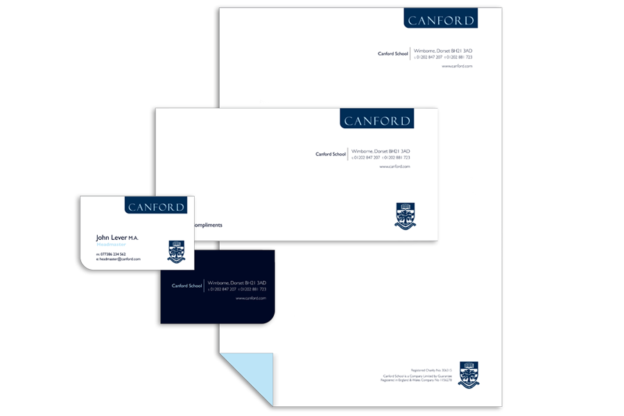 Canford Brand Identity Design by The Agency for Education