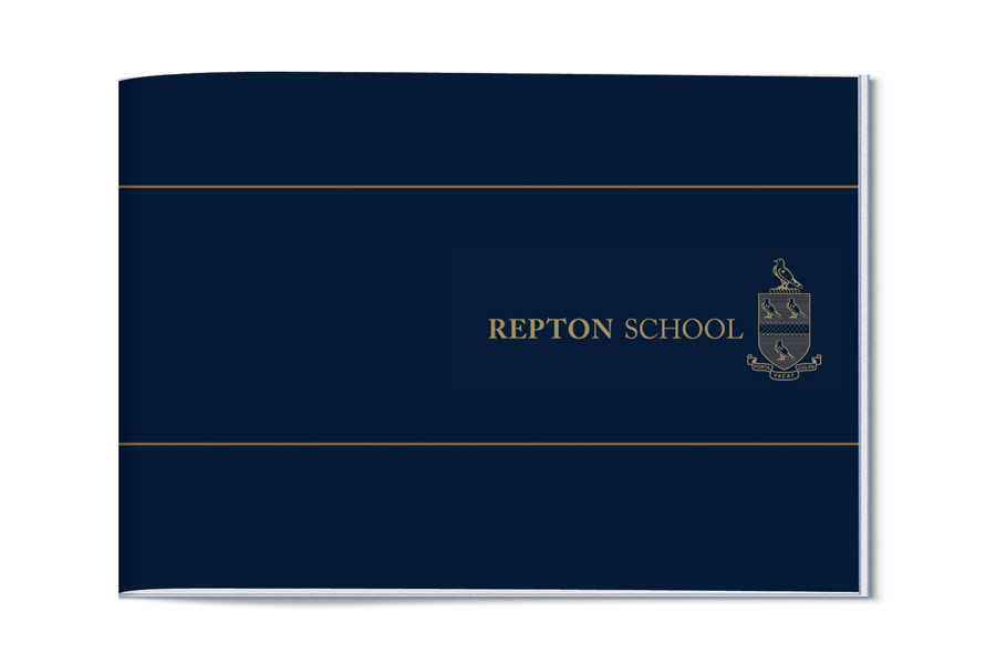 Prospectus Design for Repton School Dubai by The Agency for Education