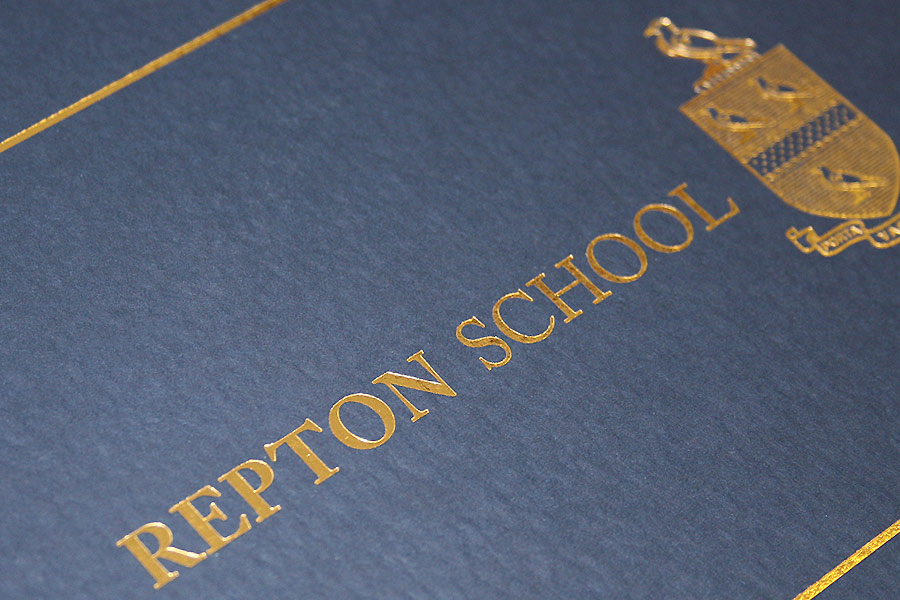 Repton School Dubai prospectus cover by The Agency for Education