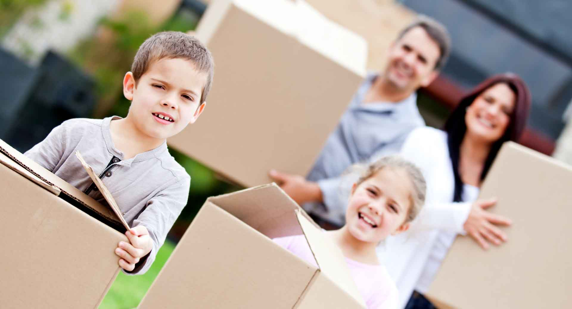 Kids Moving House