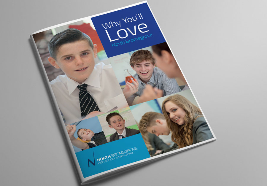 North Bromsgrove High School Prospectus Cover by The Agency for Education
